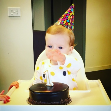 September - Cece turned 1. Party time!