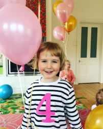 November - an early 4th birthday party for Clara before we leave family