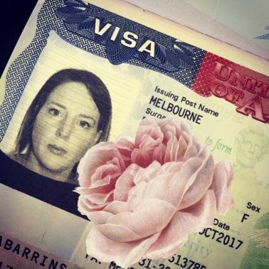 October - Visa approved!