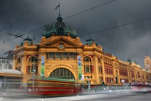 Rainy Melbourne. Photo by Kieren Andrews on Unsplash