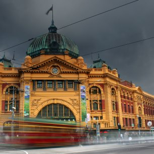 Rainy Melbourne. Photo by Kieren Andrews on Unsplash