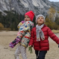 Clara & Frankie at Yosemite